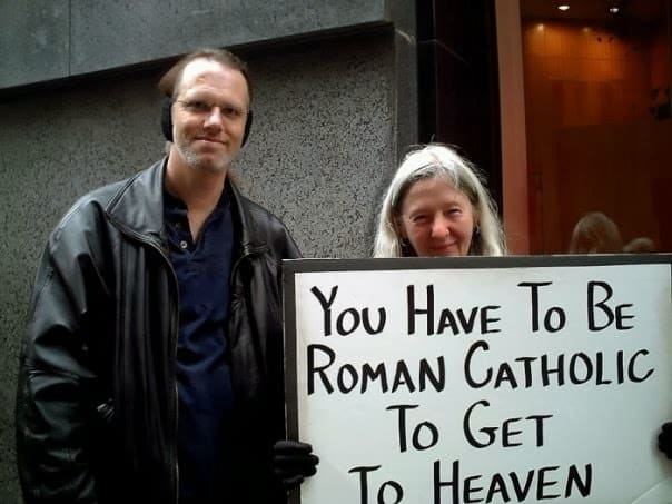 only catholics go to heaven