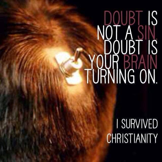 Doubt Is Your Brain Turning On