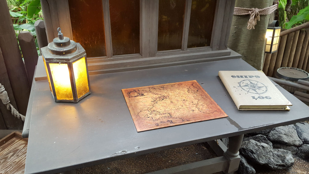 Lamp, Map, Log. I can find my own way without you, gods; thanks anyway.